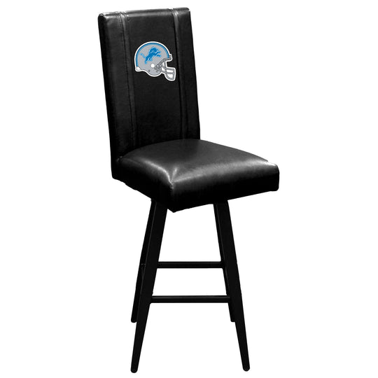 Swivel Bar Stool 2000 with  Detroit Lions Helmet Logo