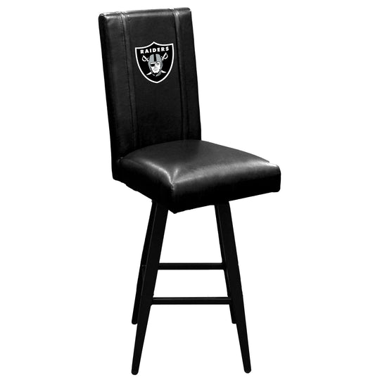 Swivel Bar Stool 2000 with  Las Vegas Raiders Primary Logo