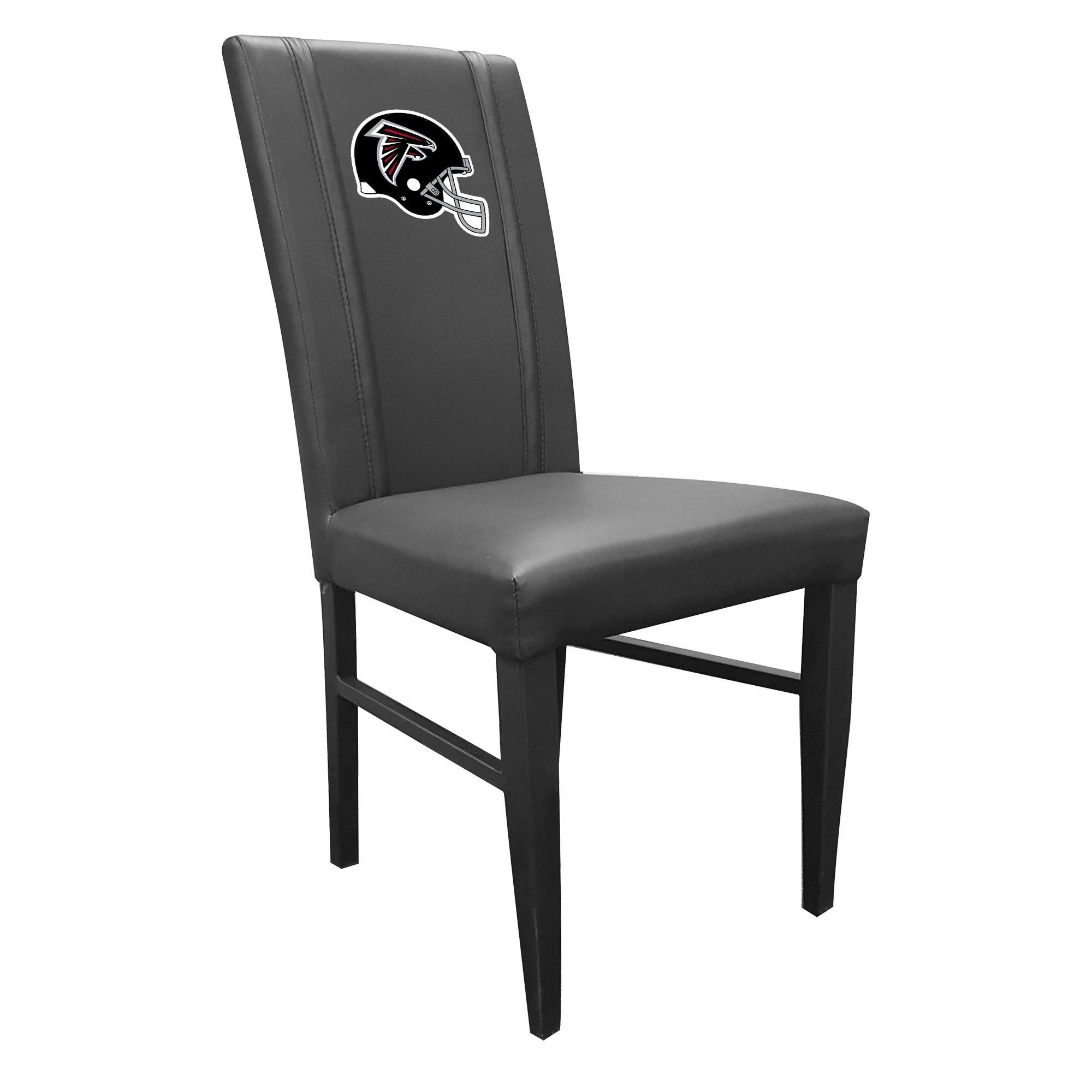 Side Chair 2000 with Atlanta Falcons Helmet Logo Set of 2
