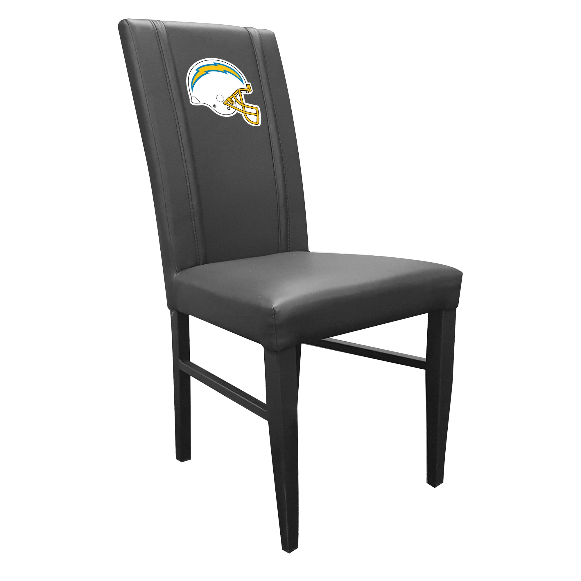 Side Chair 2000 with  Los Angeles Chargers Helmet Logo Set of 2
