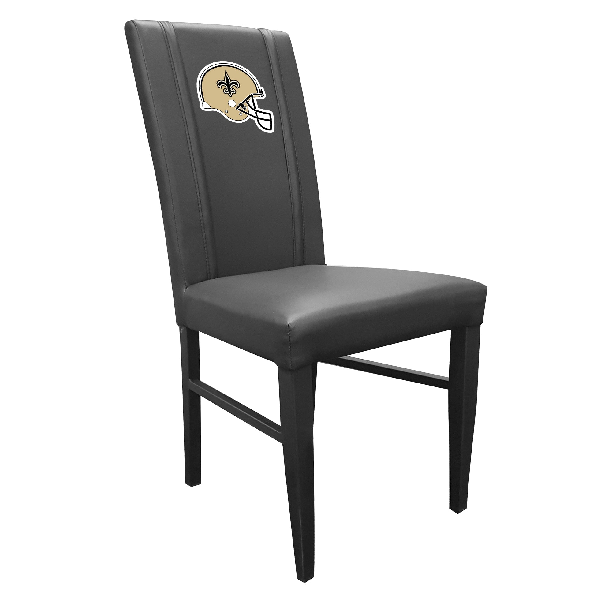 Side Chair 2000 with  New Orleans Saints Helmet Logo