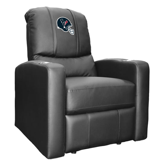 Stealth Recliner with  Houston Texans Helmet Logo