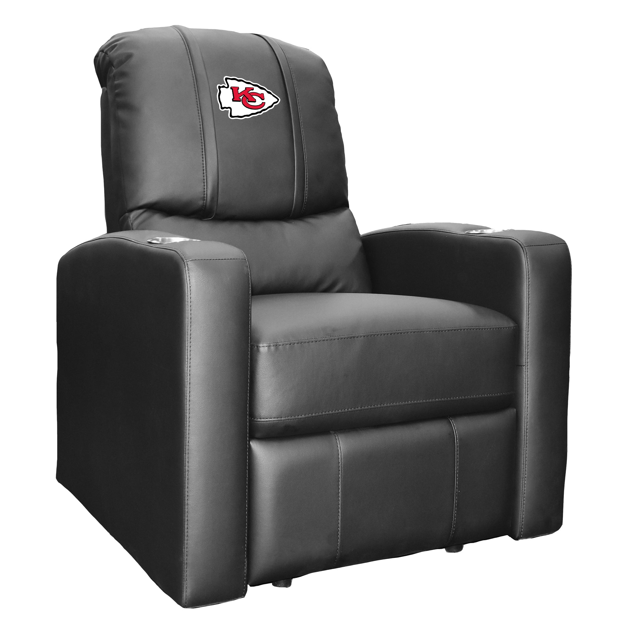 Stealth Recliner with  Kansas City Chiefs Primary Logo
