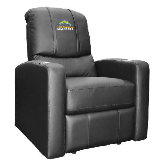 Stealth Recliner with  Los Angeles Chargers Secondary Logo