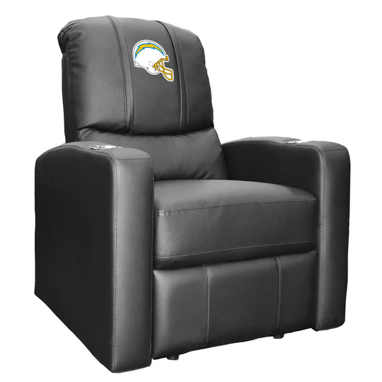 Stealth Recliner with  Los Angeles Chargers Helmet Logo