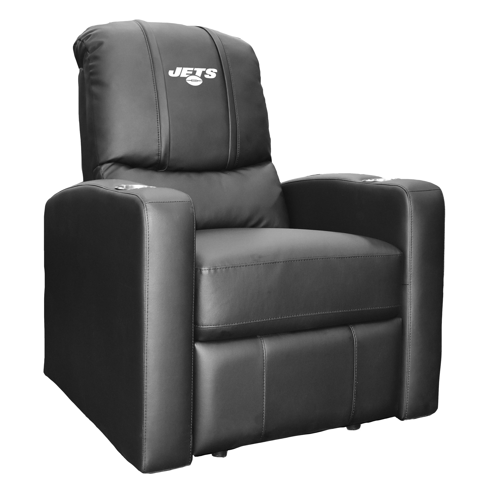 Stealth Recliner with  New York Jets Secondary Logo