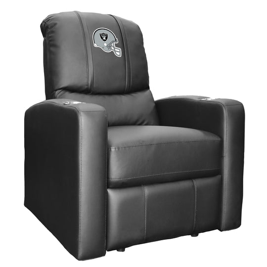 Stealth Recliner with  Las Vegas Raiders Helmet Logo