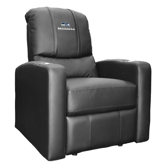 Stealth Recliner with  Seattle Seahawks Secondary Logo