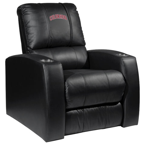 Relax Recliner with Colorado Rapids Wordmark Logo