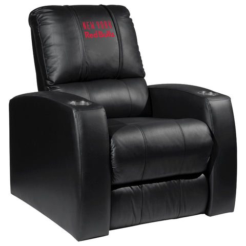Relax Recliner with New York Red Bulls Wordmark Logo