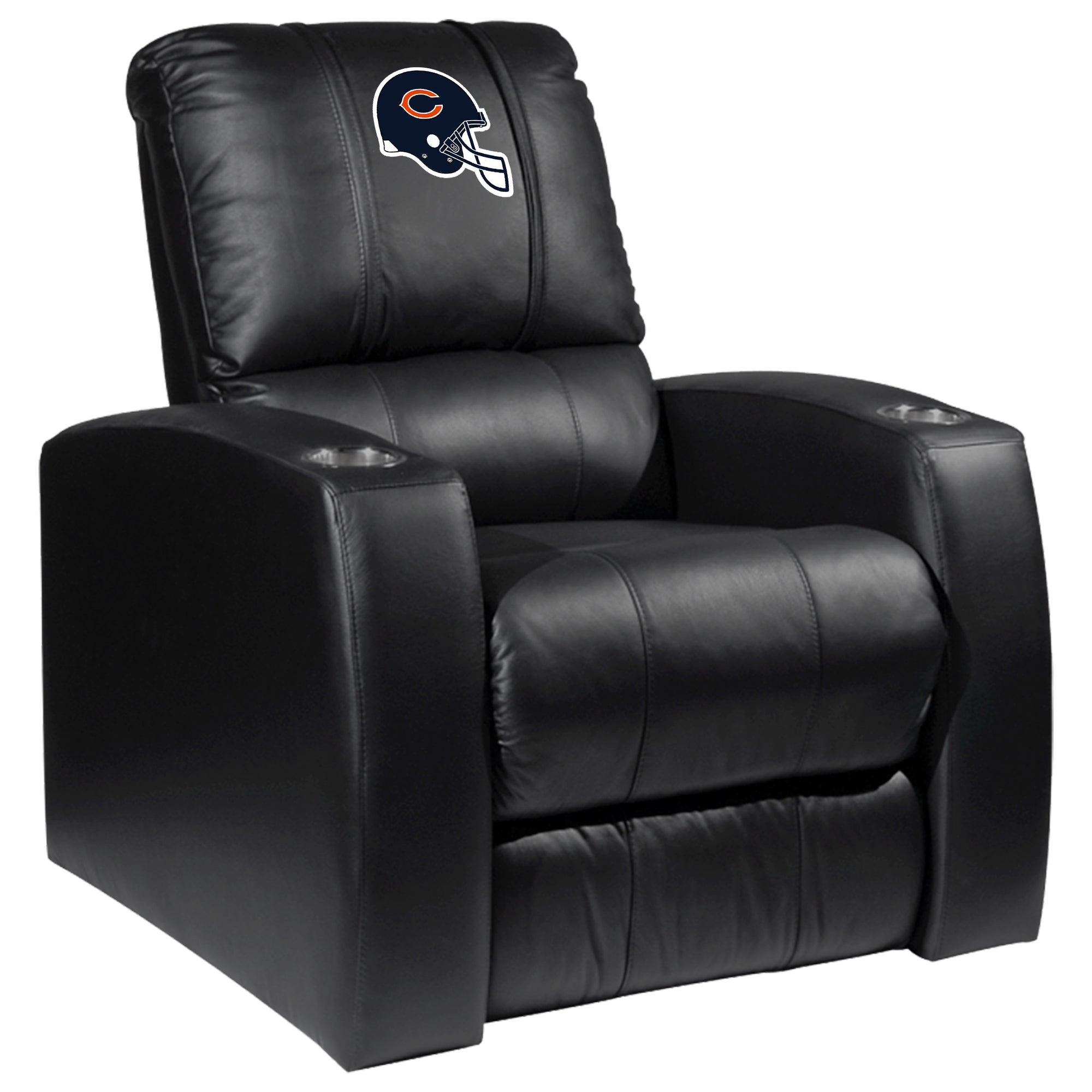 Relax Recliner with  Chicago Bears Helmet Logo