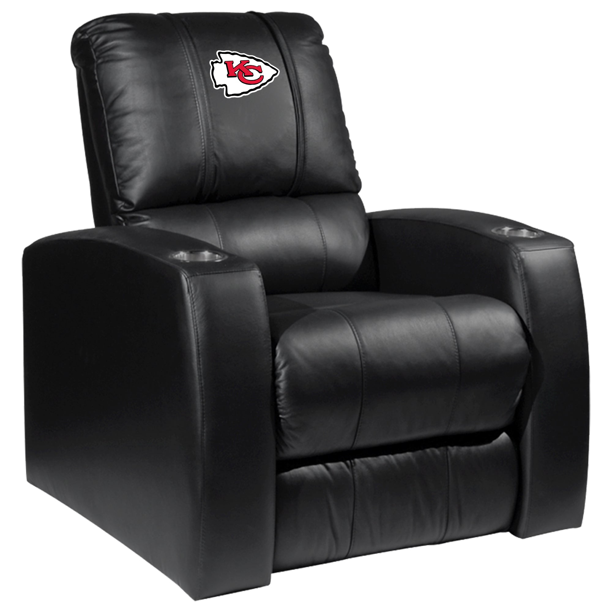 Relax Recliner with  Kansas City Chiefs Primary Logo