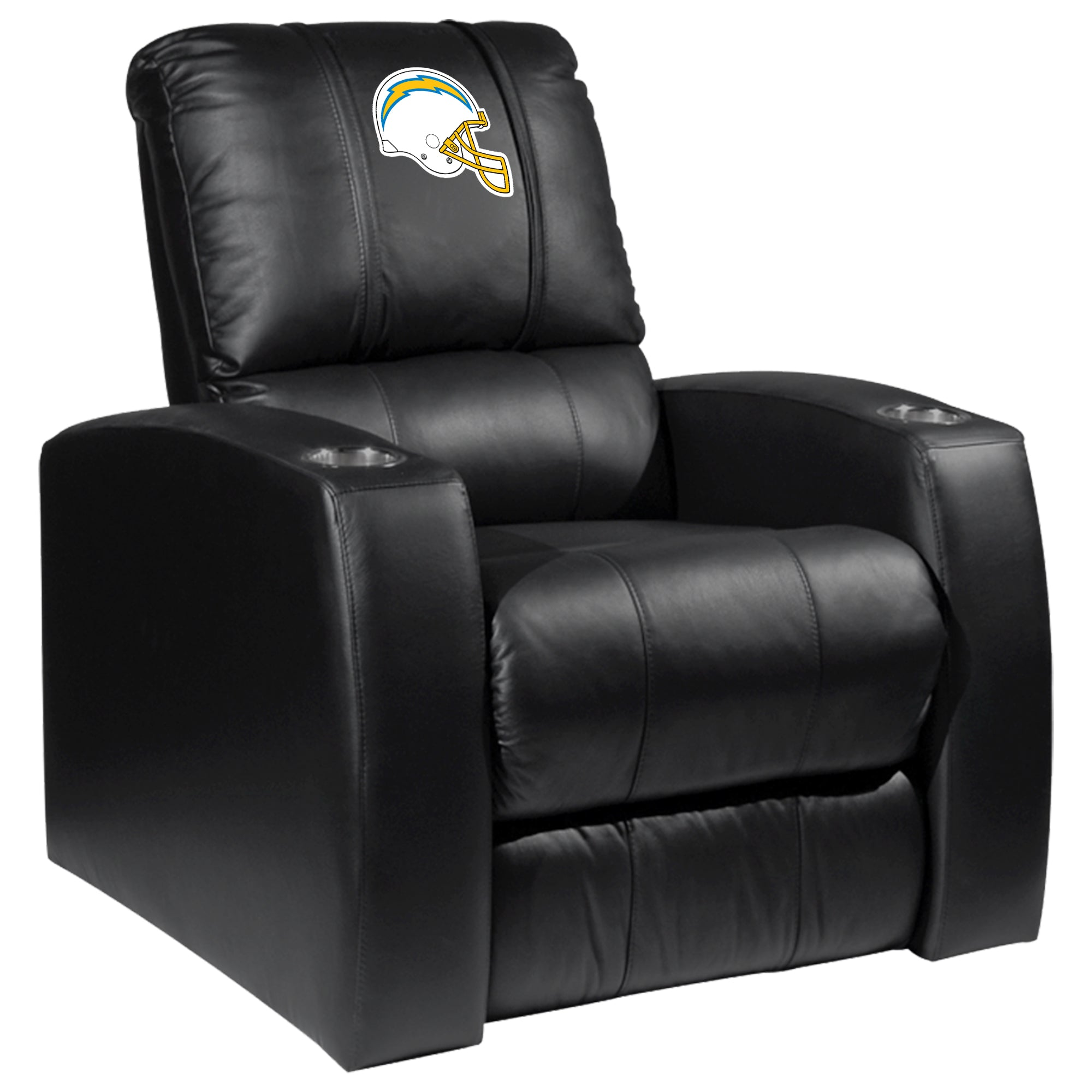 Relax Recliner with  Los Angeles Chargers Helmet Logo