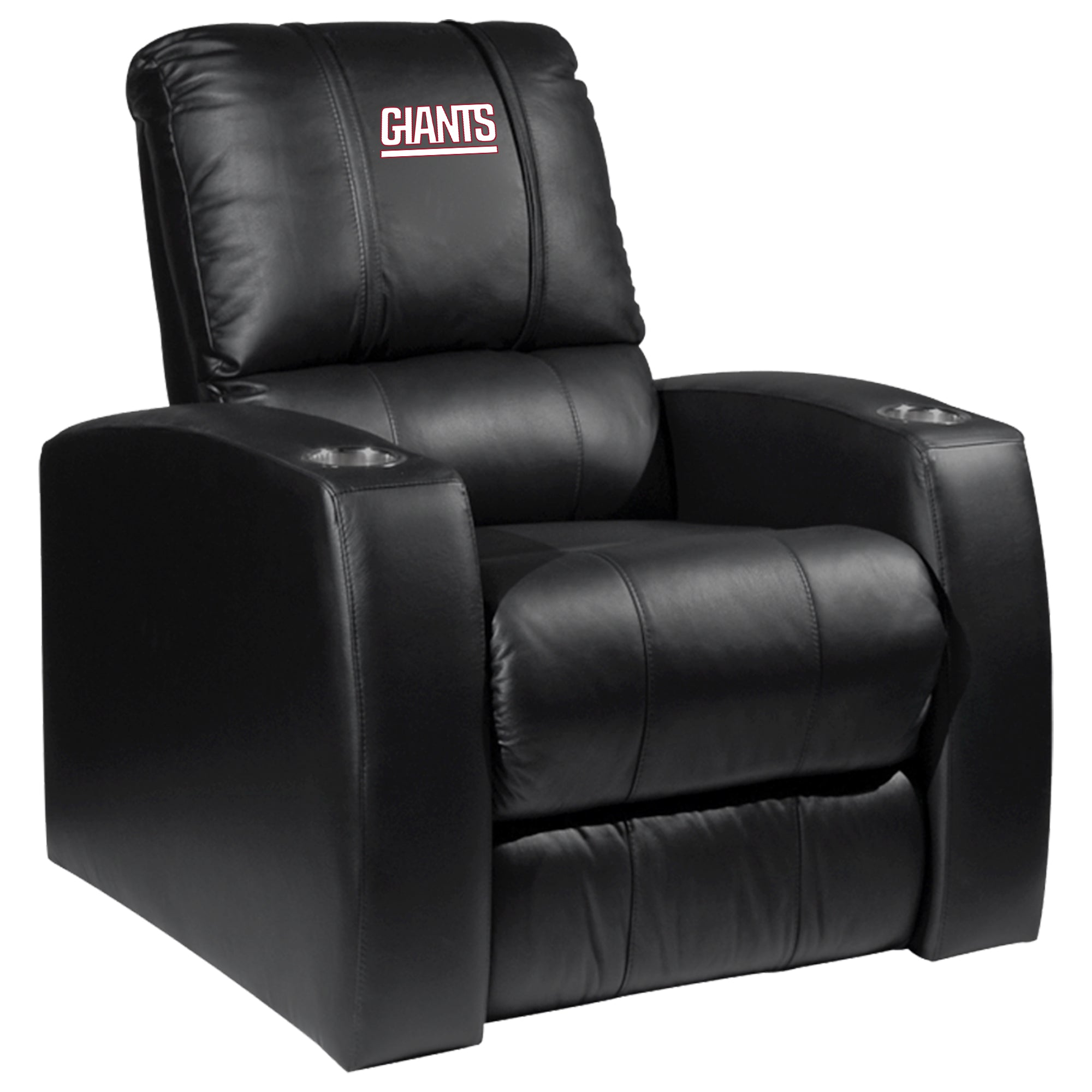 Relax Recliner with  New York Giants Secondary Logo