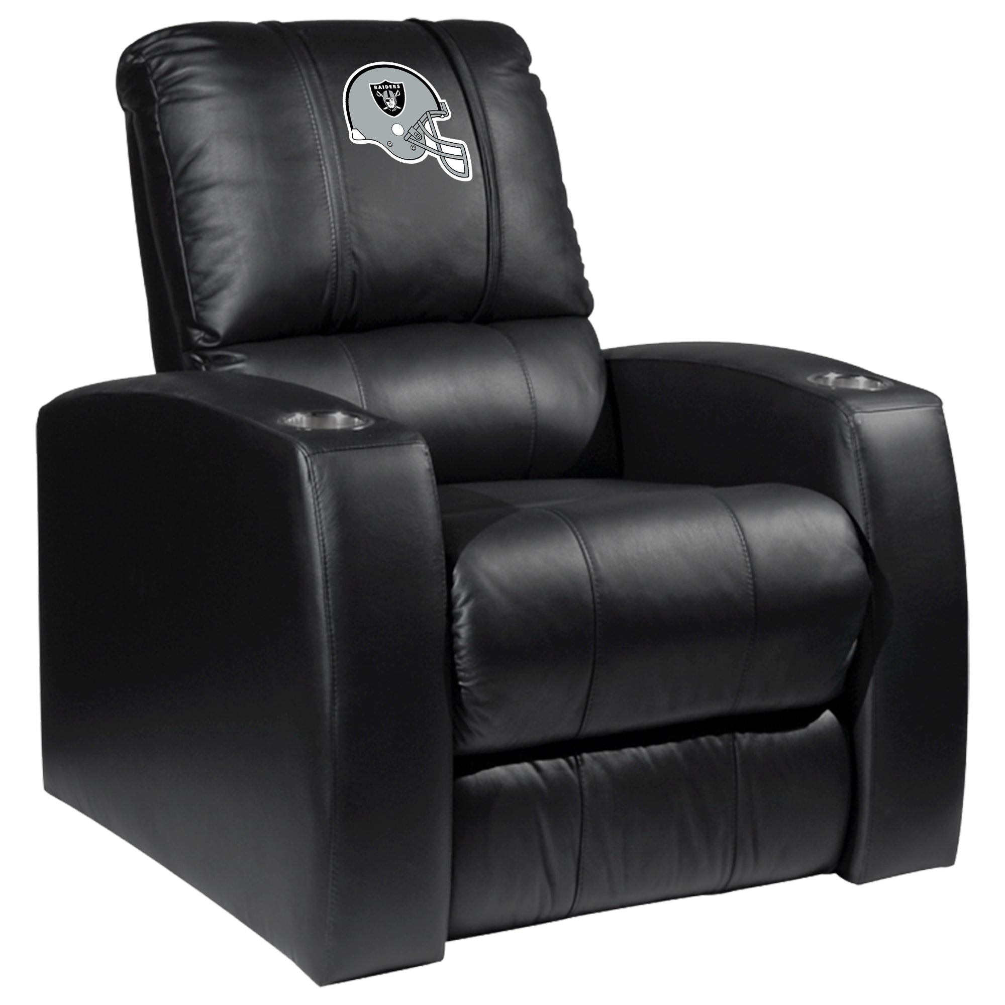 Relax Recliner with  Las Vegas Raiders Helmet Logo