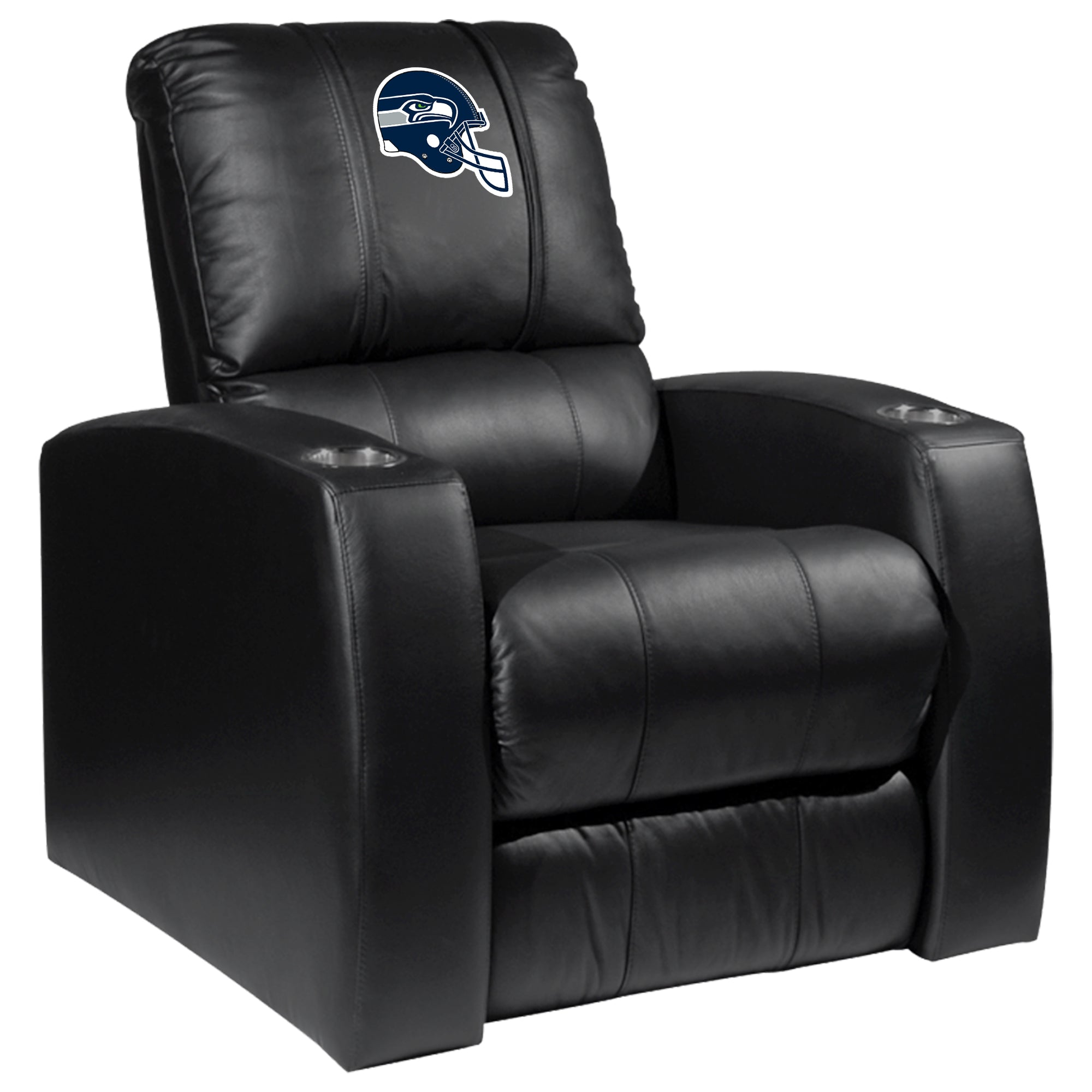 Relax Recliner with  Seattle Seahawks Helmet Logo