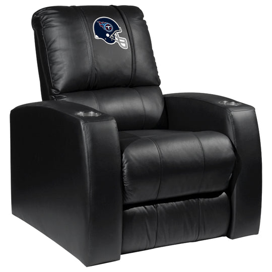 Relax Recliner with  Tennessee Titans Helmet Logo
