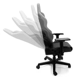 Xpression Gaming Chair with Oklahoma State University Cowboys Logo