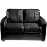 Silver Loveseat with Atlanta Hawks Secondary