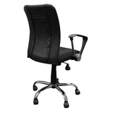 Curve Task Chair with South Dakota Coyote Paw Logo