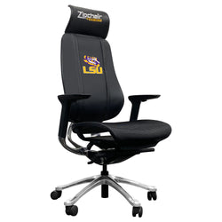 PhantomX Gaming Chair with LSU Tigers Logo