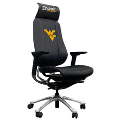 PhantomX Gaming Chair with West Virginia Mountaineers Logo