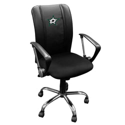 Curve Task Chair with Dallas Stars Logo