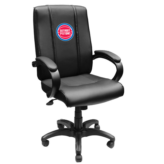 Office Chair 1000 Detroit Pistons Logo