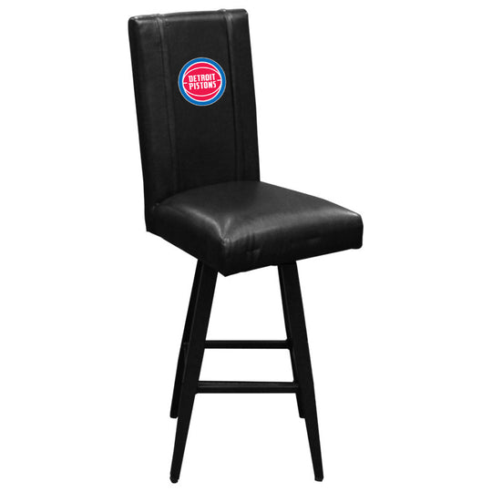 Swivel Bar Stool 2000 Detroit Pistons Logo