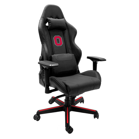 Xpression Gaming Chair with Ohio State University with Buckeyes Block O Logo