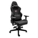 Xpression Gaming Chair with University of Georgia Bulldogs Logo Panel