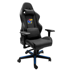 Xpression Gaming Chair with Kansas Jayhawks Logo