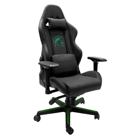 Xpression Gaming Chair with Michigan State Spartans Logo