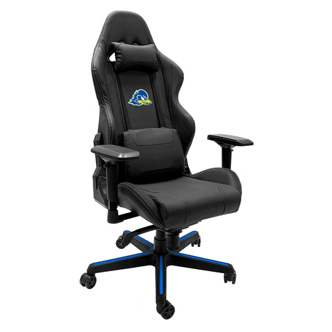 Xpression Gaming Chair with Delaware Blue Hens Logo