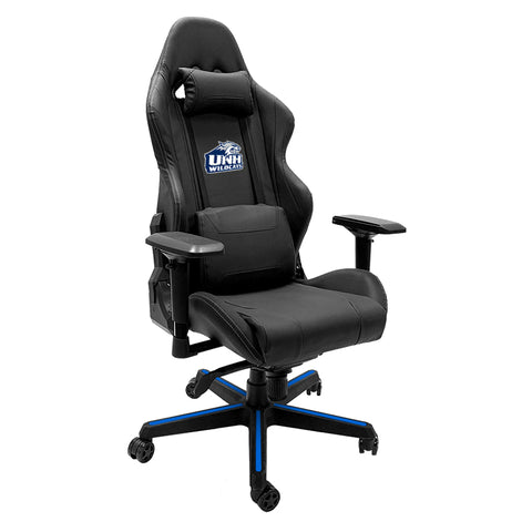 Xpression Gaming Chair with New Hampshire Wildcats Logo