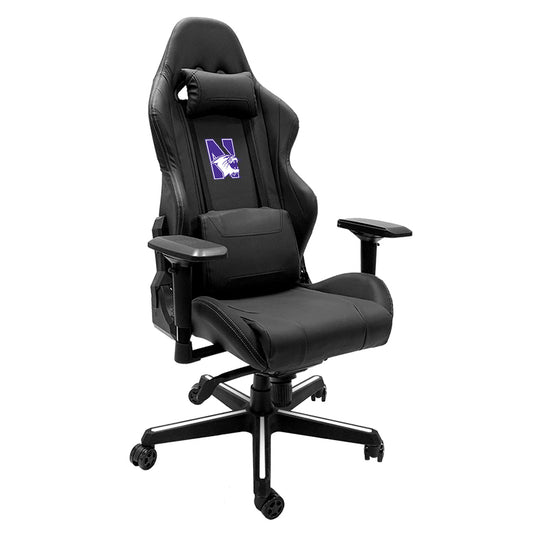 Xpression Gaming Chair with Northwestern Wildcats Logo