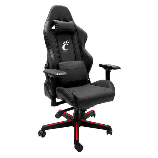 Xpression Gaming Chair with Cincinnati Bearcats Logo