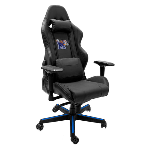 Xpression Gaming Chair with Memphis Tigers Logo