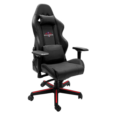 Xpression Gaming Chair with Boston Red Sox 2018 Champs Logo