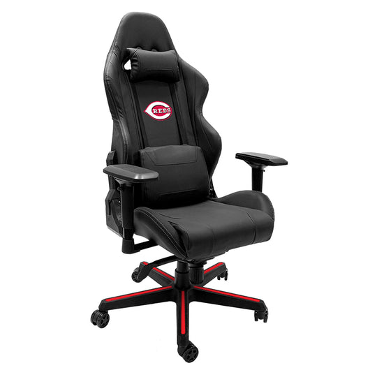 Xpression Gaming Chair with Cincinnati Reds Logo