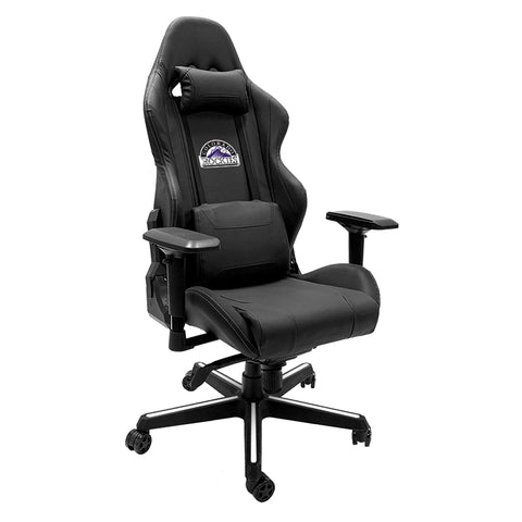 Xpression Gaming Chair with Colorado Rockies Logo