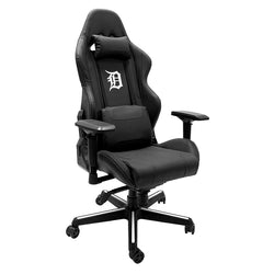 Xpression Gaming Chair with Detroit Tigers White Logo