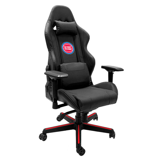 Xpression Gaming Chair with Detroit Pistons Logo