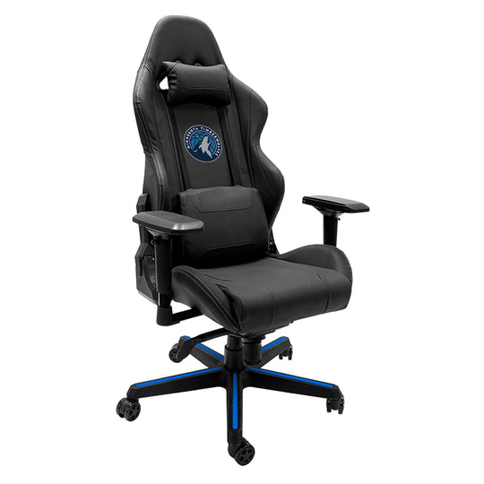 Xpression Gaming Chair with Minnesota Timberwolves Logo