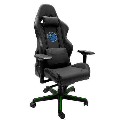 Xpression Gaming Chair with Minnesota Timberwolves Secondary Logo