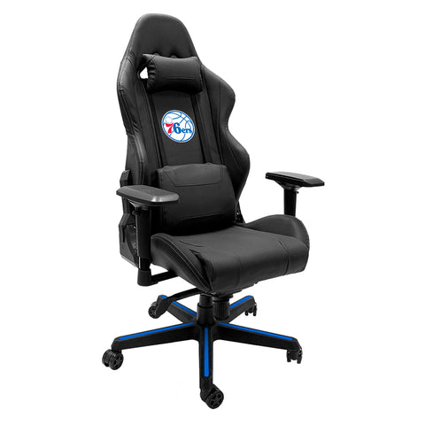 Xpression Gaming Chair with Philadelphia 76ers Secondary Logo