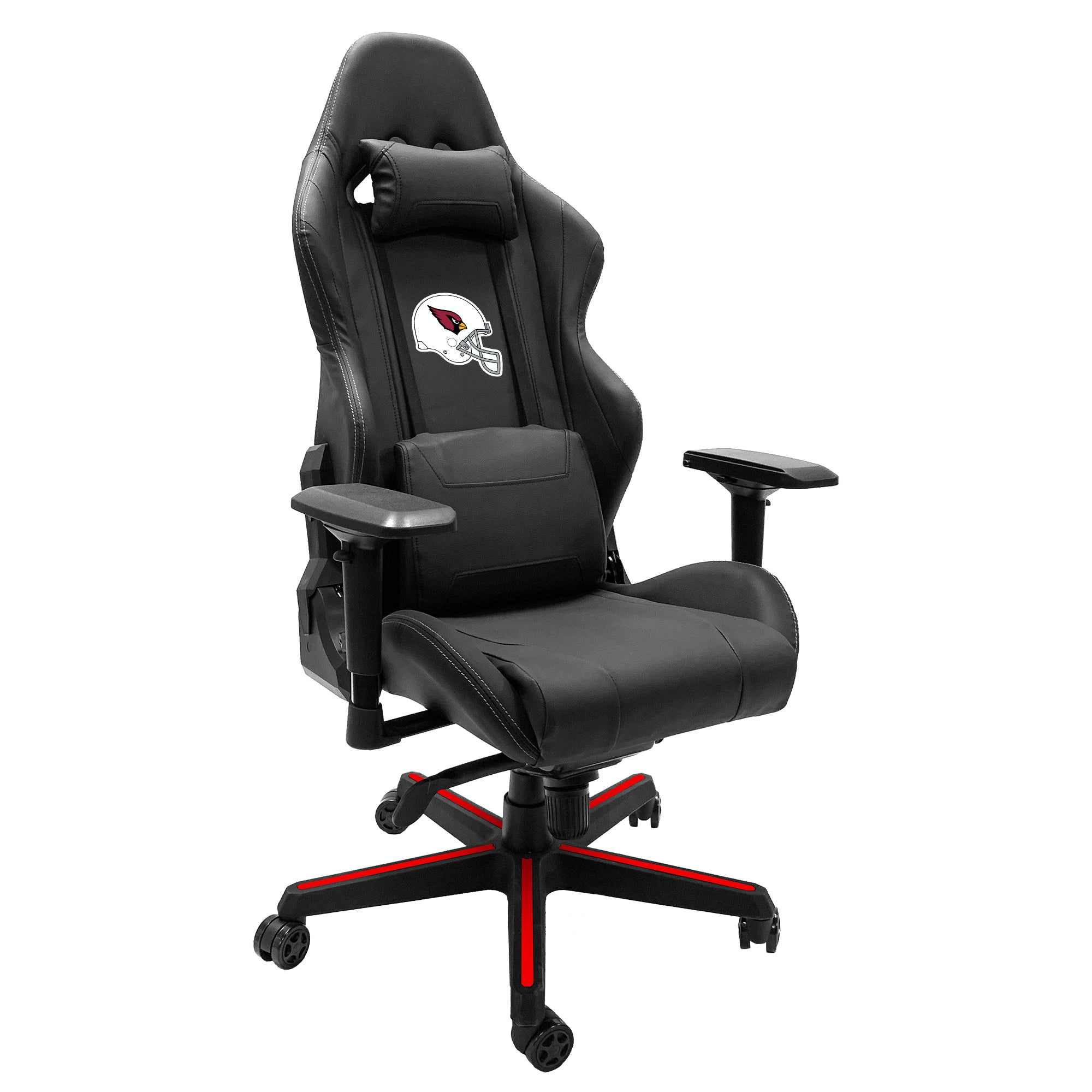 Xpression Gaming Chair with Arizona Cardinals Helmet Logo