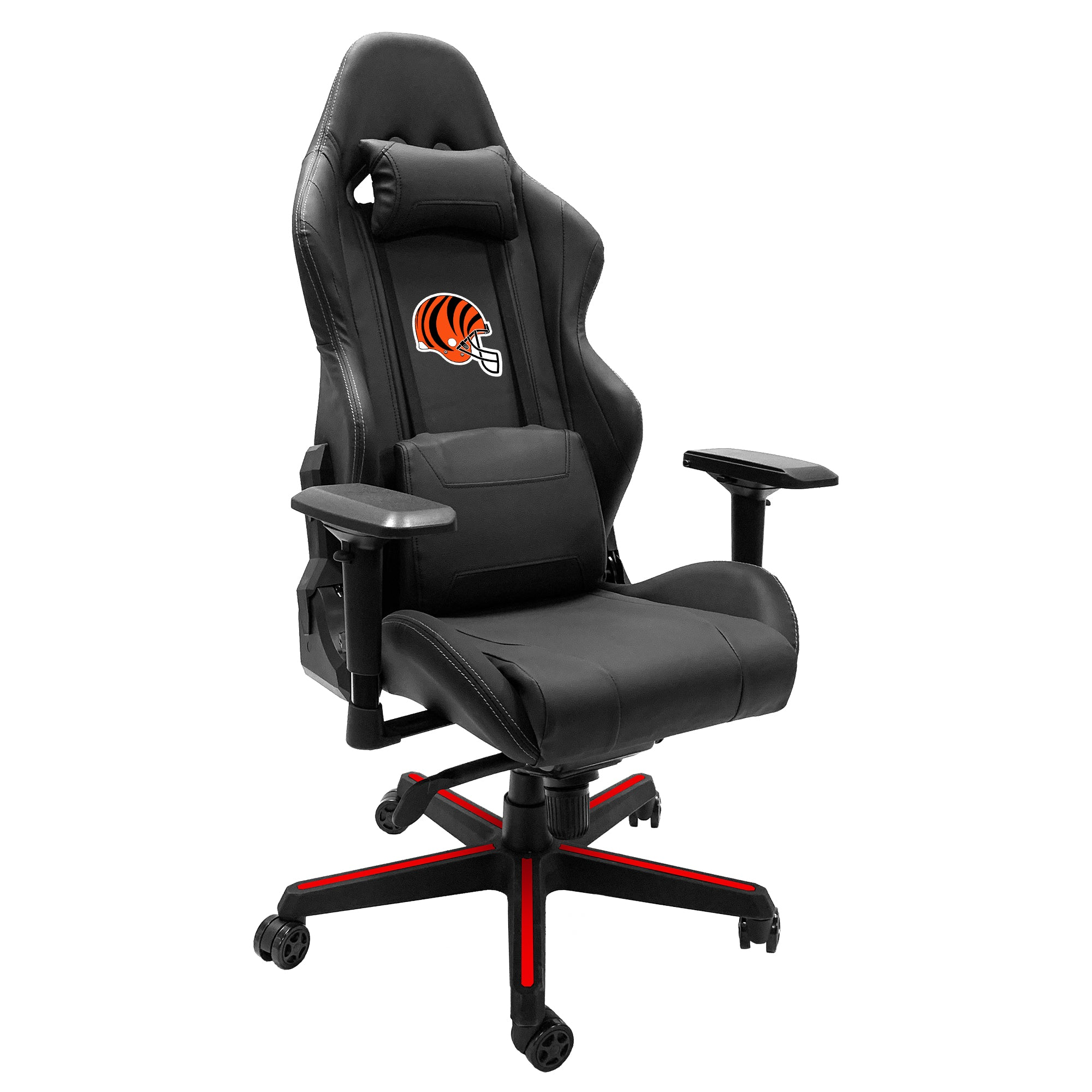 Xpression Gaming Chair with  Cincinnati Bengals Helmet Logo