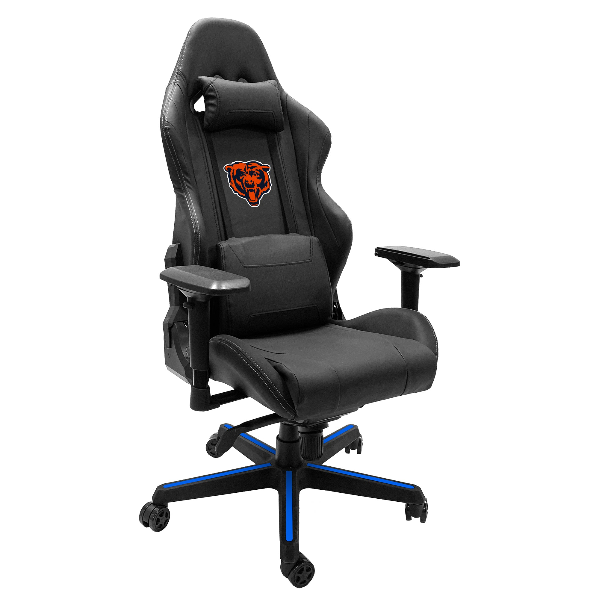 Xpression Gaming Chair with  Chicago Bears Secondary Logo