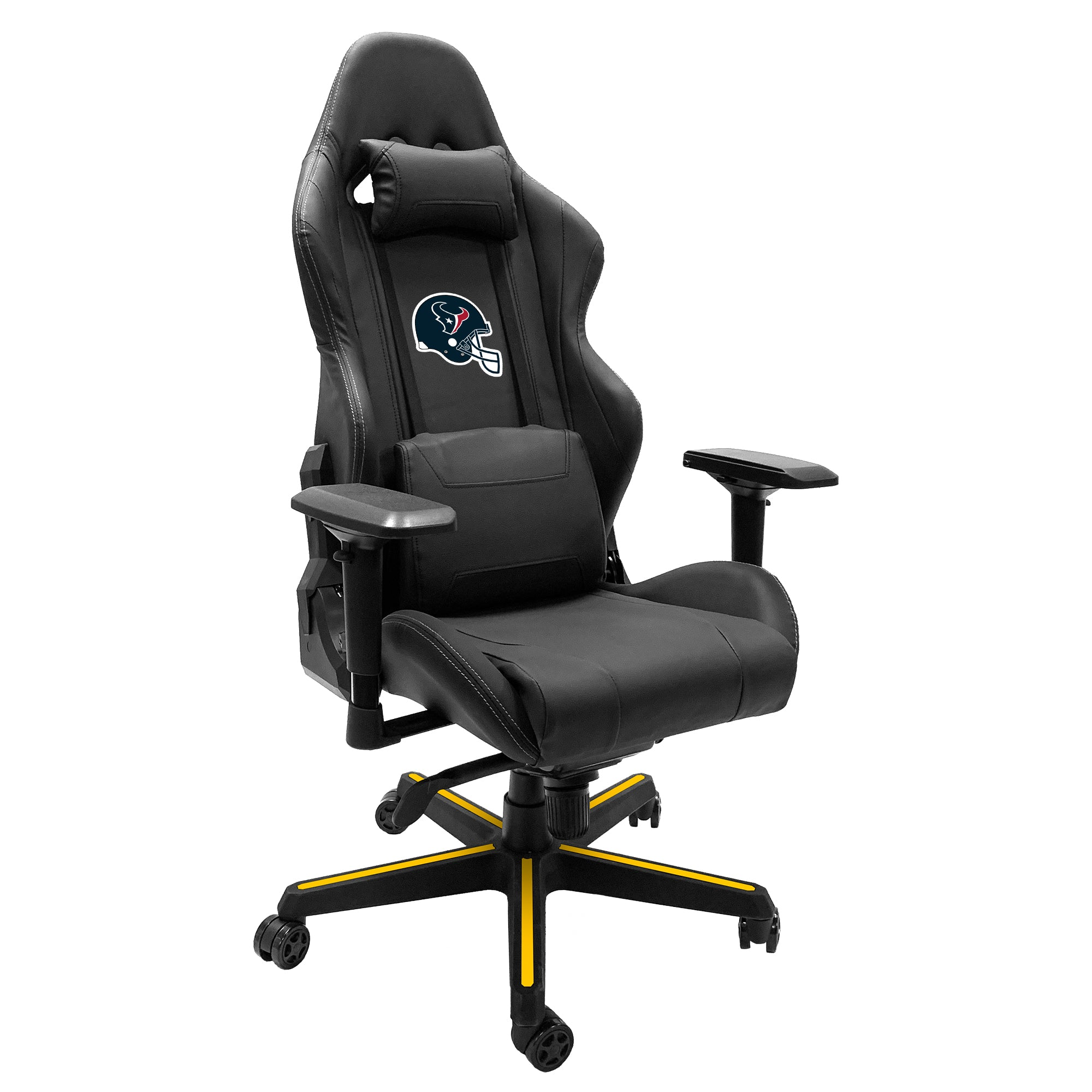 Xpression Gaming Chair with  Houston Texans Helmet Logo